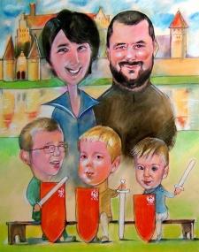 karykatury karykaturzysta na impreze krakow event (33)