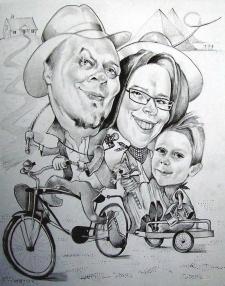 karykatury karykaturzysta na impreze krakow event (36)