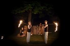 Fireshow pokaz ogniowy fire show atrakcje na imprezy spektakl Święto plonów(14)