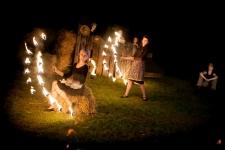 Fireshow pokaz ogniowy fire show atrakcje na imprezy spektakl Święto plonów(48)