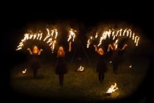 Fireshow pokazy ogniowe fire show - Spektakl sabat czarownic (21)