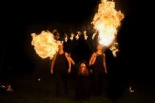 Fireshow pokazy ogniowe fire show - Spektakl sabat czarownic (22)