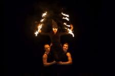 Fireshow pokazy ogniowe fire show - Spektakl sabat czarownic (4)